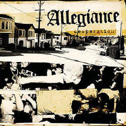 "Allegiance ""Desperation"" CD"