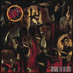 "Slayer ""Reign In Blood"" LP"