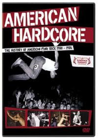 "American Hardcore ""The History Of American Punk Rock 1980 - 1986"" DVD"