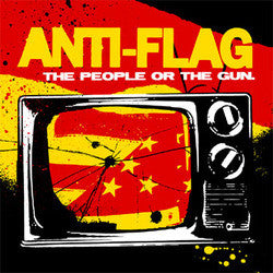 "Anti Flag ""The People Or The Gun"" CD"