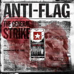 "Anti Flag ""The General Strike"" CD"
