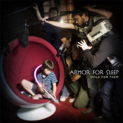 "Armor For Sleep ""Smile For Them"" CD"
