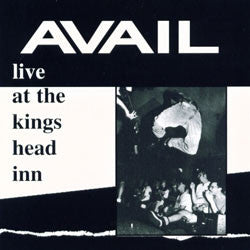 "Avail ""Live At King's Head Inn"" 10"""