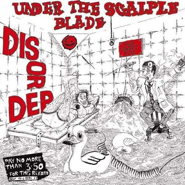 "Disorder ""Under The Scalpel Blade"" LP"