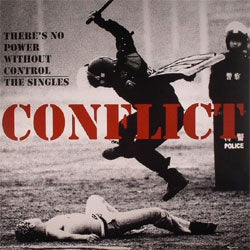 "Conflict ""There's No Power Without Control"" 2xLP"