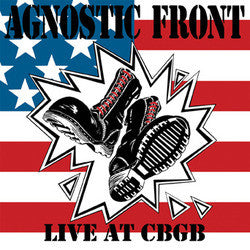 "Agnostic Front ""Live At CBGB"" LP"