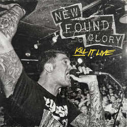"New Found Glory ""Kill It, Live"" CD"