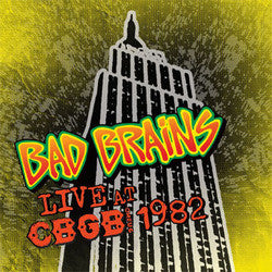 "Bad Brains ""Live CBGB 1982"" LP"