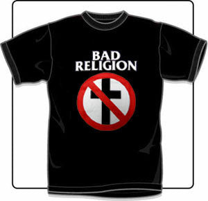 Bad Religion Cross T Shirt