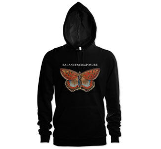 "Balance And Composure ""Butterfly"" Hooded Sweatshirt"