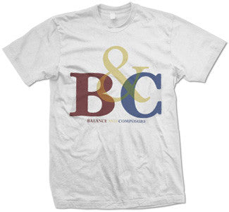 "Balance And Composure ""Colors Logo"" T Shirt"