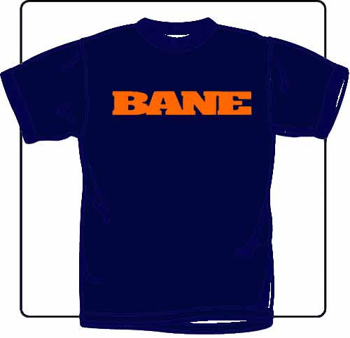 Bane Logo Blue T Shirt
