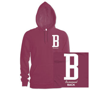 "Basement ""B Logo"" Hooded Sweatshirt"