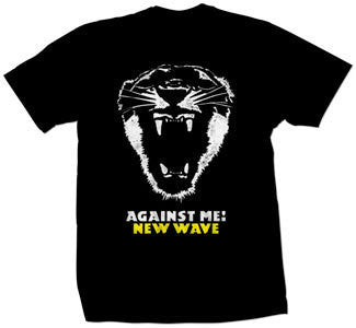 "Against Me! ""New Wave"" T Shirt"
