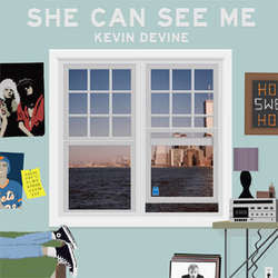 "Kevin Devine ""She Can See Me"" 7"""