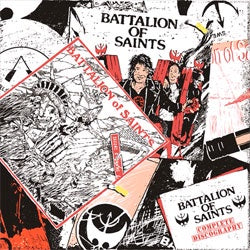 "Battalion Of Saints ""Complete Discography"" 3xLP"