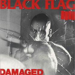 "Black Flag ""Damaged"" CD"