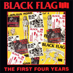 "Black Flag ""The First Four Years"" LP"