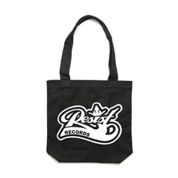 "Resist ""Logo"" Black Tote Bag"