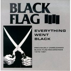 "Black Flag ""Everything Went Black"" CD"