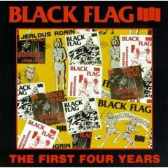 "Black Flag ""The First Four Years"" CD"