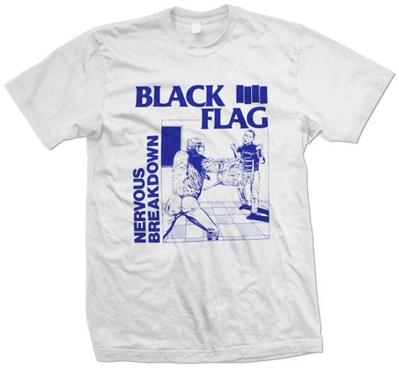 "Black Flag ""Nervous Breakdown"" T Shirt"