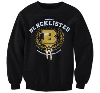 "Blacklisted ""B"" Crew Neck Sweatshirt"