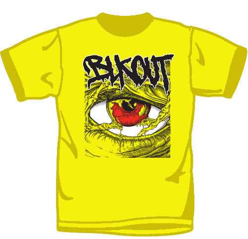 "Blkout ""Eye"" Yellow T Shirt"