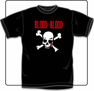 Blood For Blood Skull T Shirt