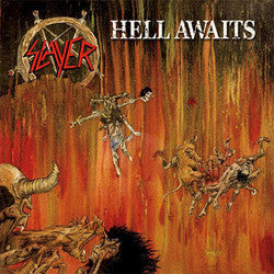 "Slayer ""Hell Awaits"" LP"