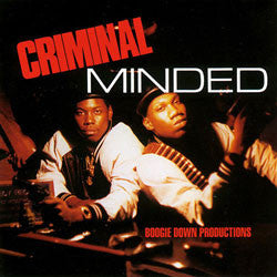 "Boogie Down Productions ""Criminal Minded"" 2xLP"