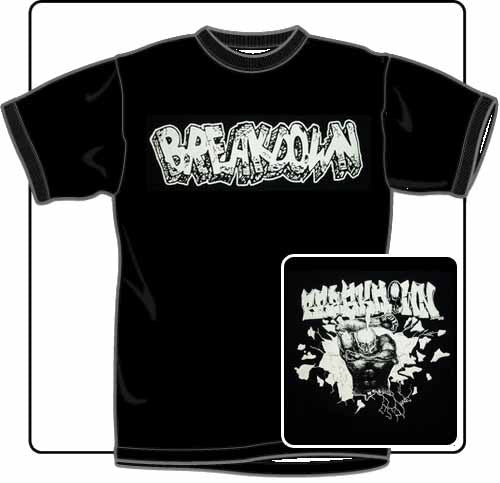 Breakdown Sick People T Shirt Large