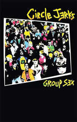 "Circle Jerks ""Group Sex"" CASSETTE"