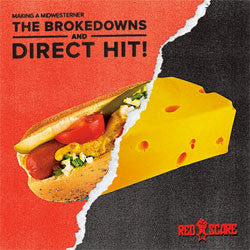"The Brokedowns / Direct Hit! ""Making a Midwesterner"" 7"""