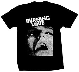 "Burning Love ""Face"" T Shirt"