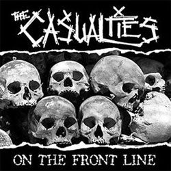 "The Casualties ""On The Front Line"" CD"
