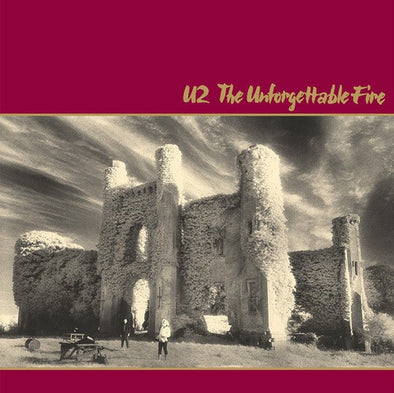 "U2 ""The Unforgettable Fire"" LP"