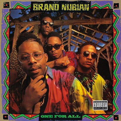 "Brand Nubian ""One For All (30th Anniversary)"" 2xLP+7''"