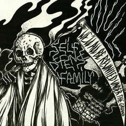 "Null / Self Defense Family ""Split"" 7"""