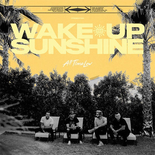 "All Time Low ""Wake Up, Sunshine"" LP"