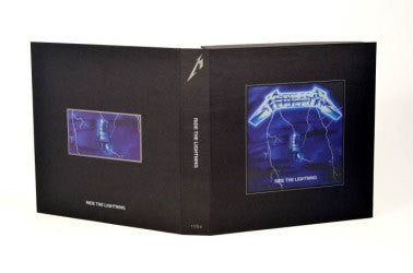 "Metallica ""Ride The Lightning"" 4xLP Deluxe Boxset"