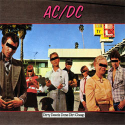 "AC/DC ""Dirty Deeds Done Dirt Cheap"" LP"