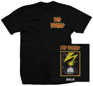 "Bad Brains ""Front Logo"" T Shirt"