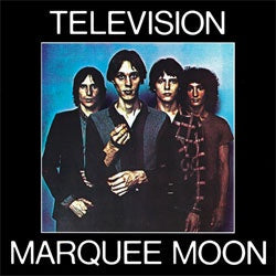 "Television ""Marquee Moon"" LP"