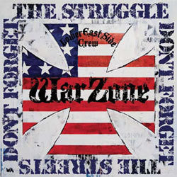 "Warzone ""Don't Forget The Struggle, Don't Forget The Streets"" CD"