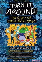 "Various Artists ""Turn It Around: The Story Of East Bay Punk"" BLU RAY + DVD"