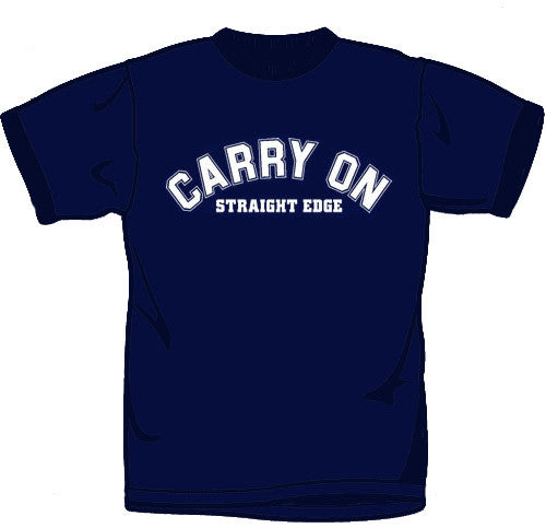 Carry On Straight Edge T Shirt