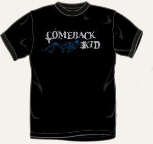Comeback Kid Wake The Dead T Shirt