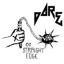 "DARE ""O.C. Straight Edge"" 7"" Flexi"