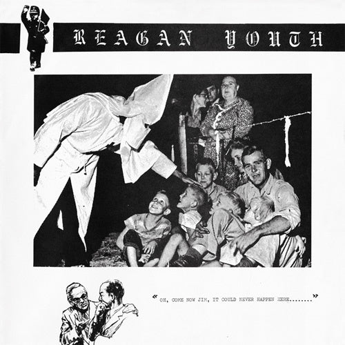 "Reagan Youth ""Youth Anthems For The New Order"" LP"